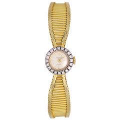 PATEK PHILIPPE Diamond Gold Ladies Watch