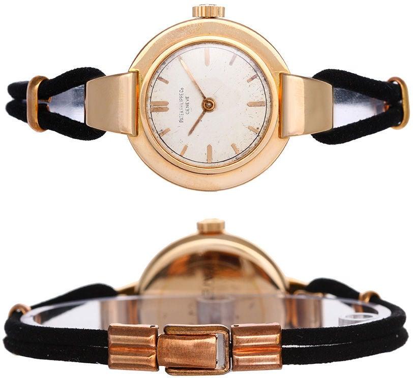 Patek Philippe Vintage Rose Gold Ladies Watch 3