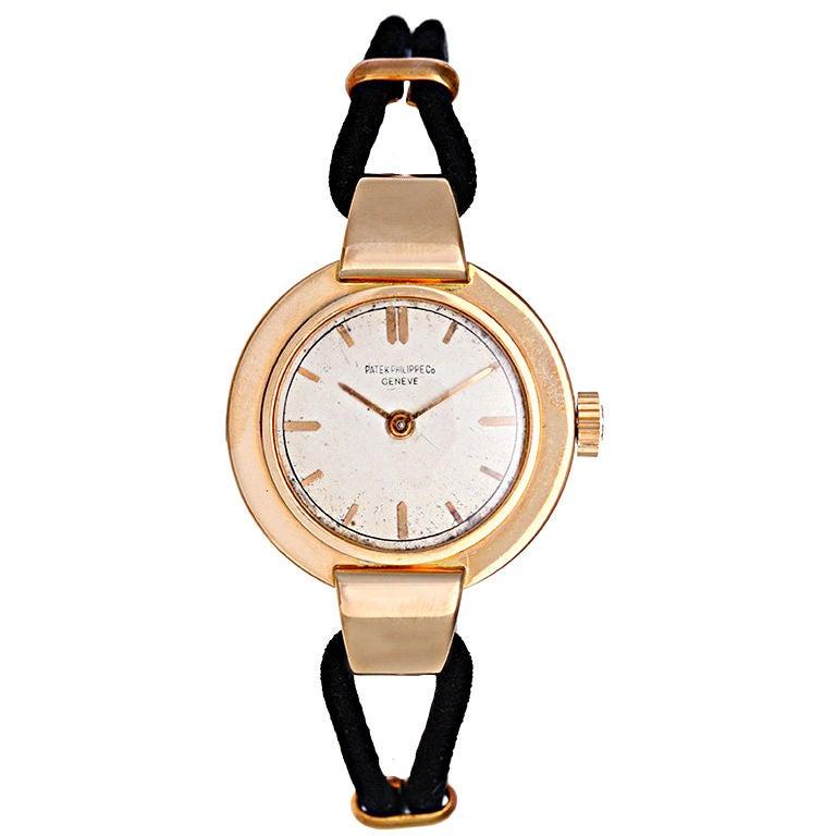 Patek Philippe Vintage Rose Gold Ladies Watch 1