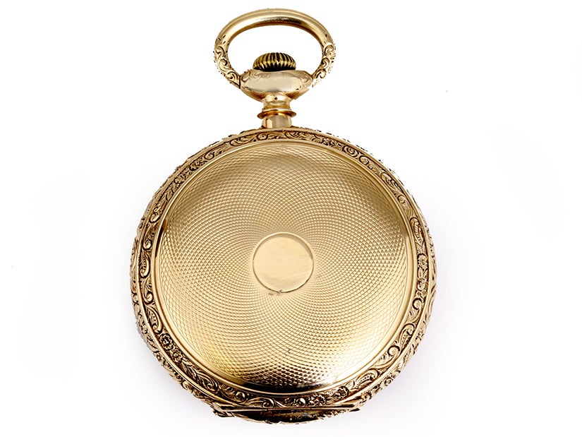 E. Howard & Co. Boston Highly Collectible Pocket Watch 6