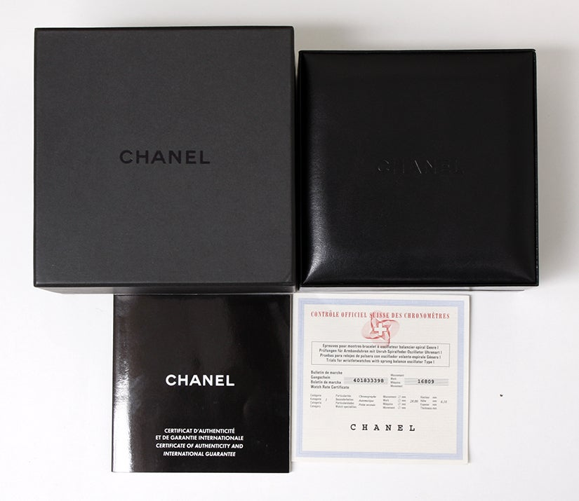 Chanel Black Ceramic and Diamonds J12 Chronograph Wristwatch 3