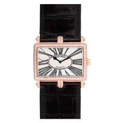 Roger Dubuis Lady's Rose Gold and Diamond Too Much Wristwatch