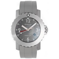 Kobold Stainless Steel Soarway GMT Dual-Time Wristwatch