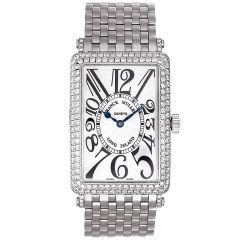 Franck Muller Long Island Stainless Steel Diamond Watch 1000 SC