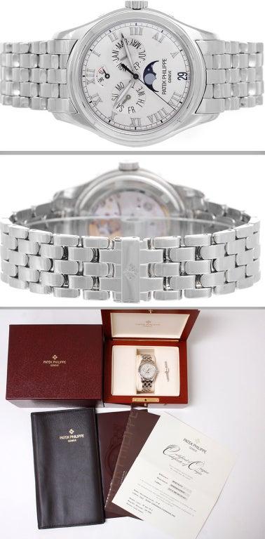 Patek Philippe White Gold Annual Calendar Wristwatch Ref 5036G 2