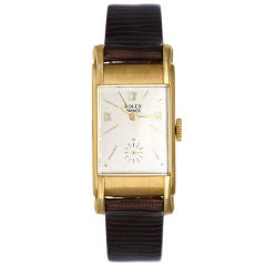 "Vintage ""Doctors"" Rolex Prince Men's 18k Yellow Gold Watch 3937"