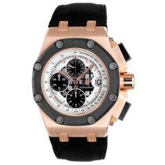 Audemars Piguet Rose Gold Rubens Barrichello II Offshore Chronograph