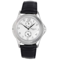 Patek Philippe Travel Time Men's White Gold Watch 5134 G