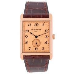 Patek Philippe Rose Gold Gondolo Wristwatch Ref 5109R