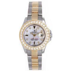 Rolex Ladies Yacht-Master 2-Tone Watch 169623