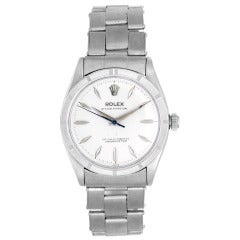 Rolex Stainless Steel Oyster Perpetual Wristwatch Ref 6569