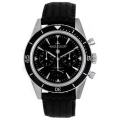 Jaeger-LeCoultre Stainless Steel Master Compressor Chronograph Wristwatch