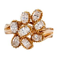 Oscar Heyman & Bros. Gold and Diamond Ring