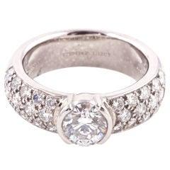 TIFFANY & CO. Etoile Diamond Ring