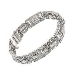 Tiffany & Co. Art Deco Diamond Bracelet