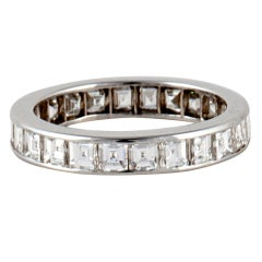 Oscar Heyman & Bros. Diamond Platinum Eternity Band
