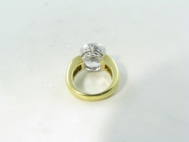 phipps yellow white sapphire and yellow gold ring