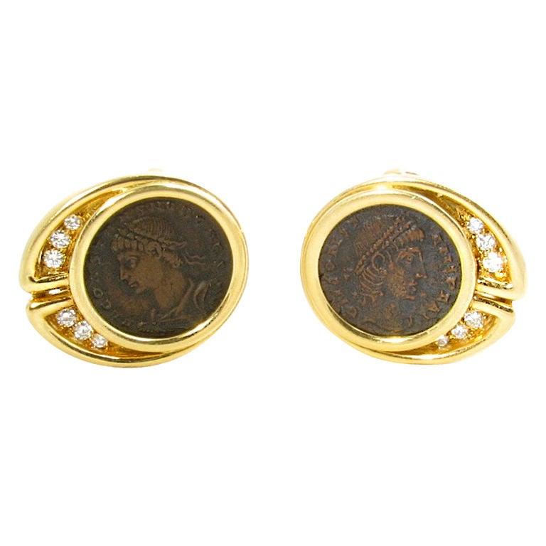 Bulgari Roman Coin Ring