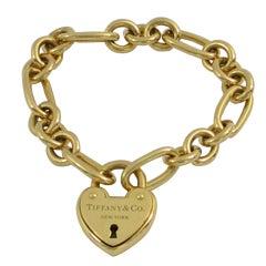 Tiffany & Co. Gold  Key to My Heart Bracelet