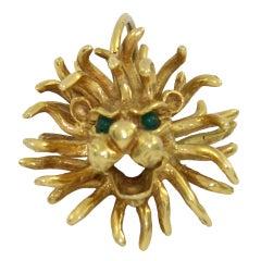 Cartier Lion's Head Pendant