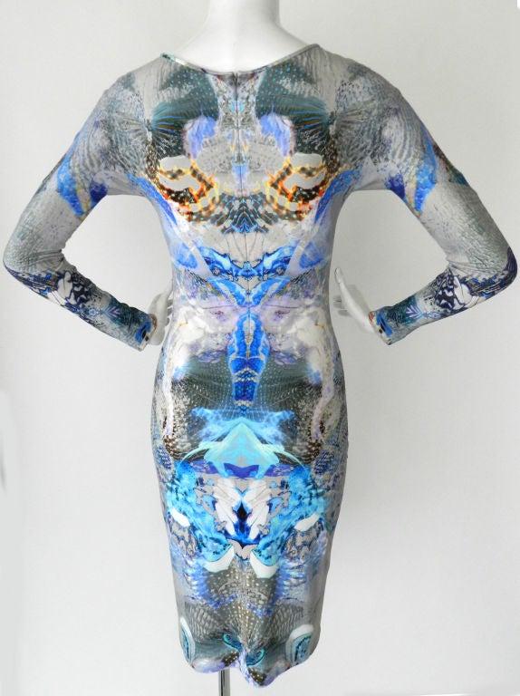 Alexander McQueen Digital Jellyfish Print Dress 2