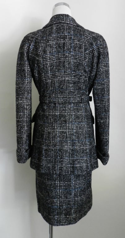 Chanel 07A Black & Grey Cashmere Skirt Suit 3