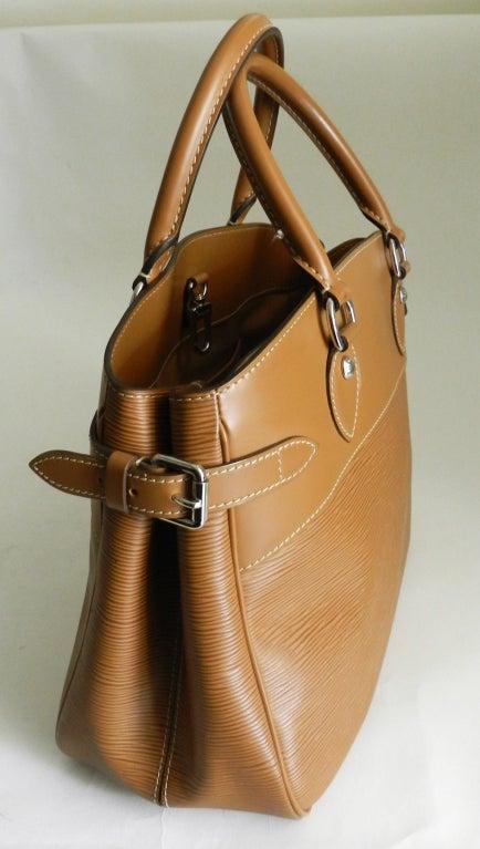 Louis Vuitton Tan EPI Passy GM Purse image 2