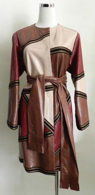 Missoni Leather Coat 2