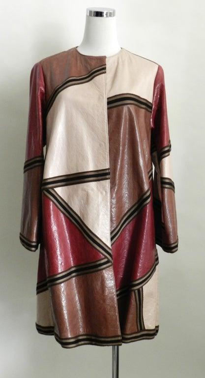 Missoni Leather Coat 3