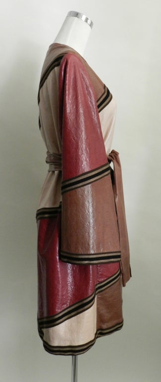 Missoni Leather Coat 4