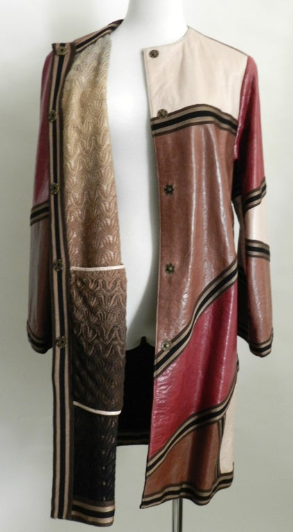 Missoni Leather Coat 6