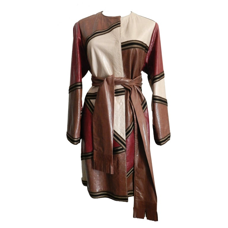 Missoni Leather Coat 1
