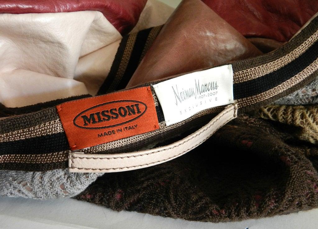 Missoni Leather Coat 8