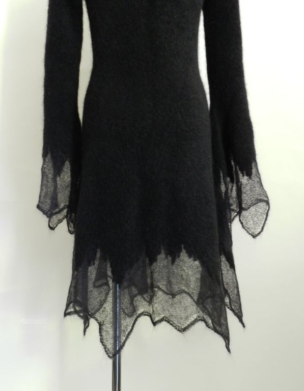 Chanel 09A Mohair Runway Dress 3