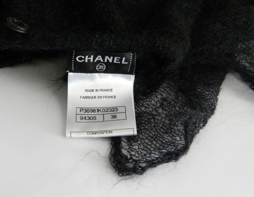 Chanel 09A Mohair Runway Dress For Sale 1
