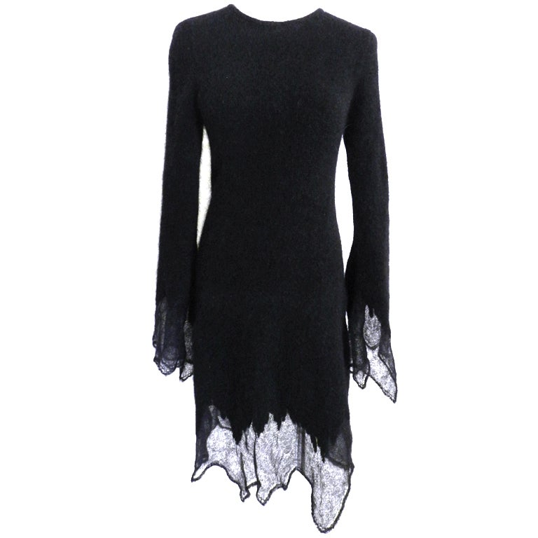 Chanel 09A Mohair Runway Dress 1