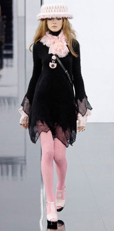 Chanel 09A Mohair Runway Dress 5