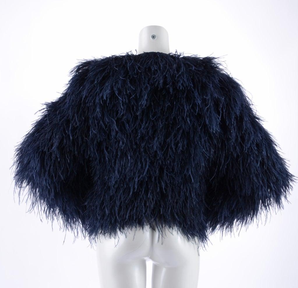 Pierre Balmain Ostrich Fur Jacket image 3