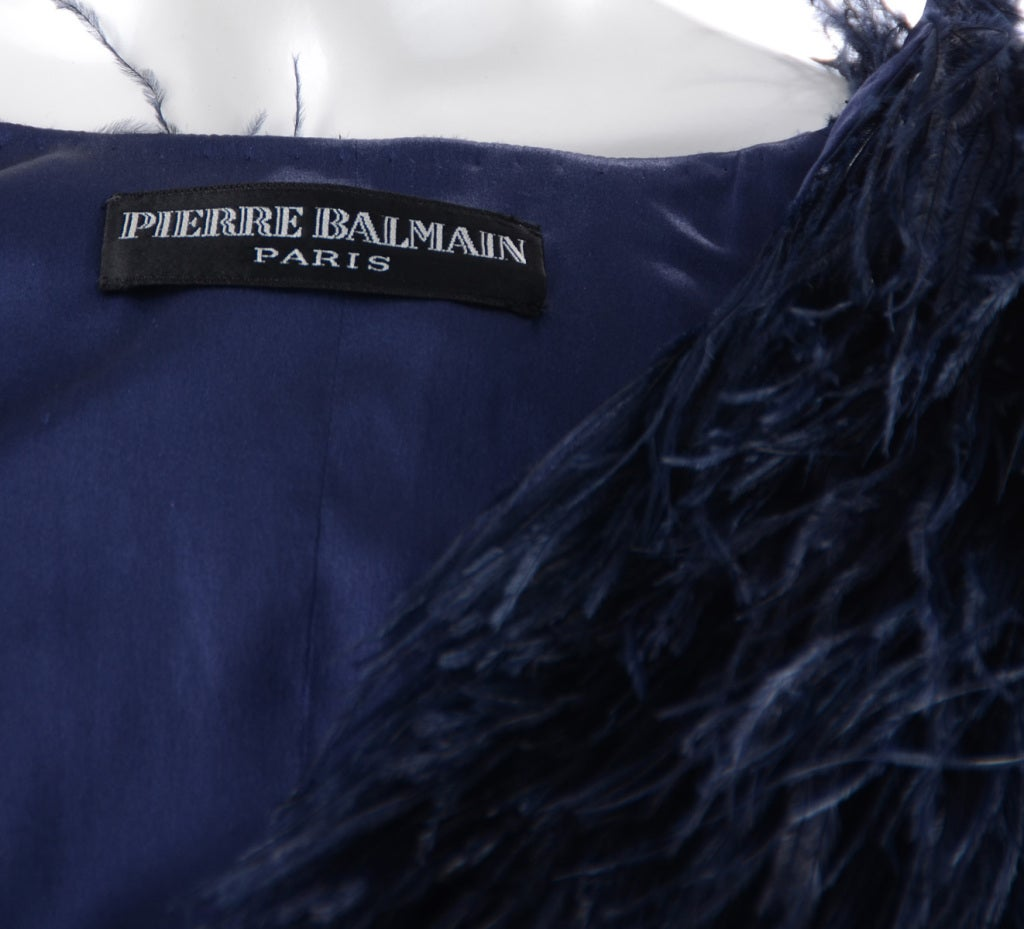 Pierre Balmain Ostrich Fur Jacket image 4