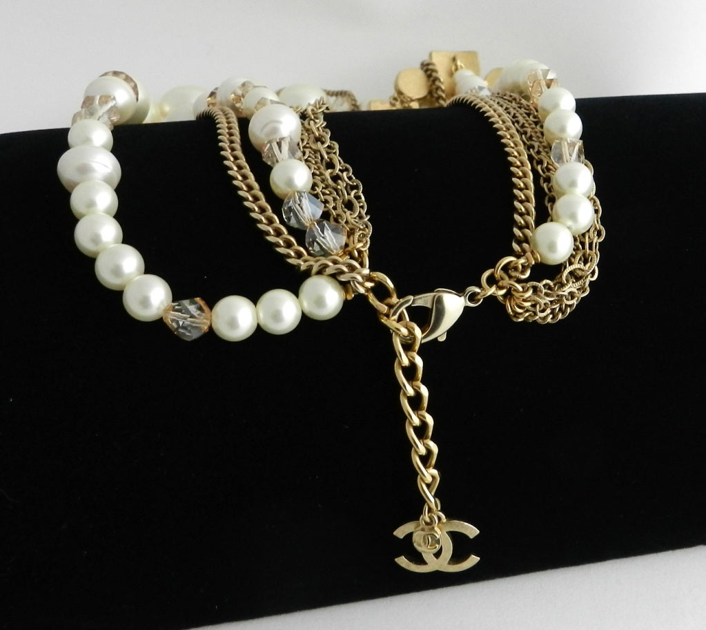 Chanel 07A Gripoix pearl necklace 5