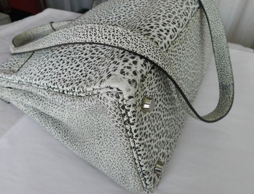 Hermes Dalmatian Kelly 32 Bag in Buffalo Skipper Leather 9