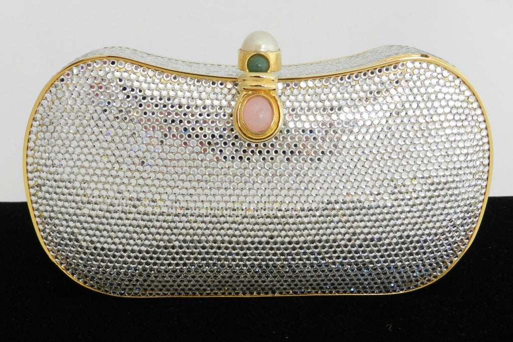 Judith Leiber Jewelled Minaudiere Evening Bag 2