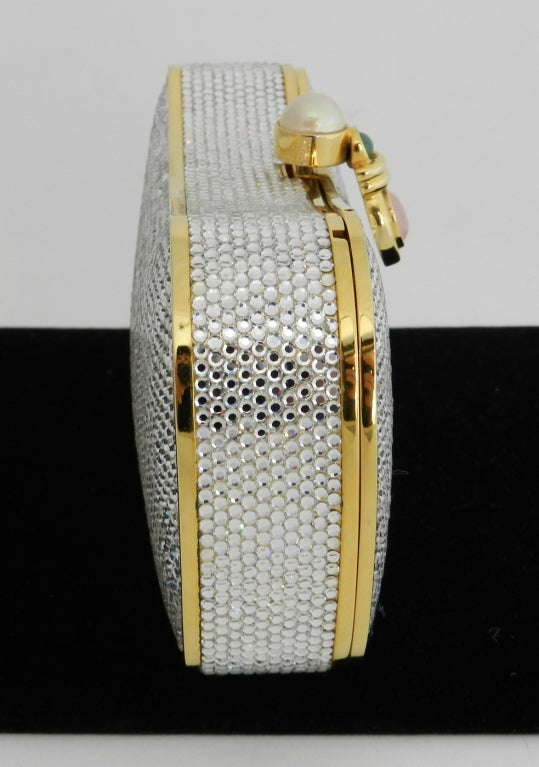 Judith Leiber Jewelled Minaudiere Evening Bag 4