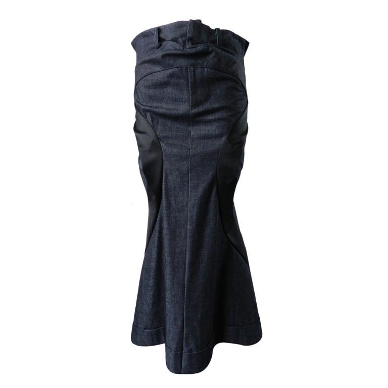 junya watanabe comme des garcons 2007 s denim skirt at 1stdibs