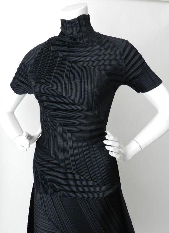 Issey Miyake Black Pleated Skirt & Top image 4
