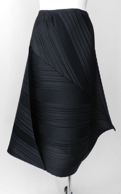 Issey Miyake Black Pleated Skirt & Top image 5