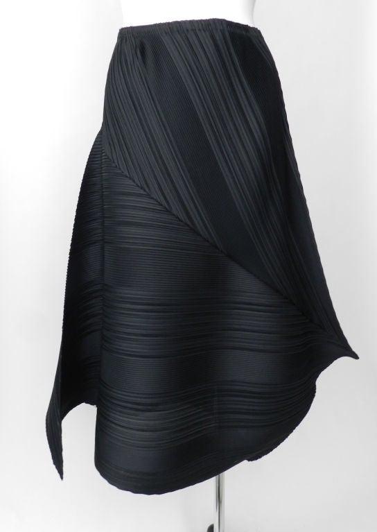 Issey Miyake Black Pleated Skirt & Top image 6