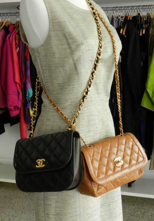 Chanel Classic Vintage Cross body bag purse 6