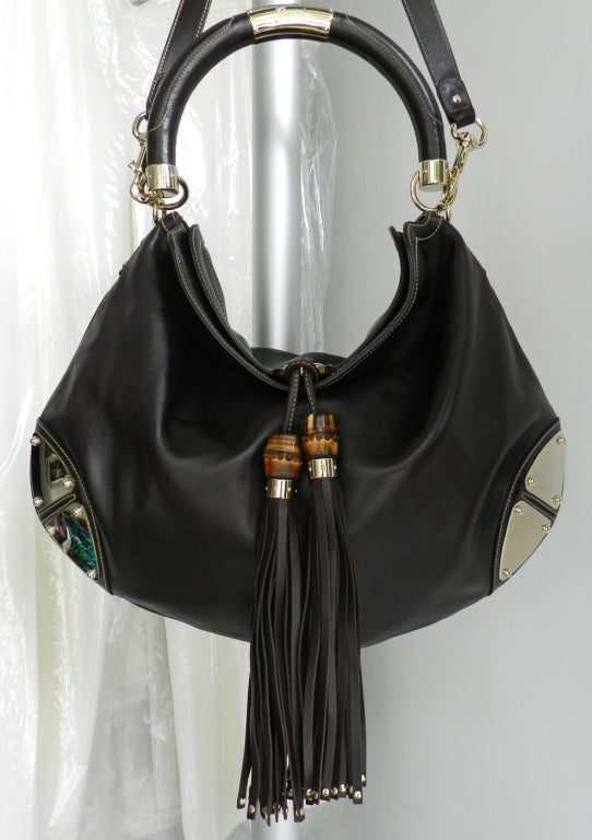 Gucci Indy Guccissima Large Hobo Bag At 1stdibs