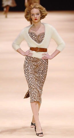 Alexander McQueen Black Silk Dress with Lace 2